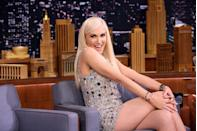 "<p>Gwen reveals to Heidi Klum in <a href=""https://www.instyle.com/news/heidi-klum-gwen-stefani-style-crush"" rel=""nofollow noopener"" target=""_blank"" data-ylk=""slk:InStyle"" class=""link rapid-noclick-resp""><em>InStyle</em></a> that her style has changed and is more girly than ever—thanks to Blake. ""It's probably because I'm super in love and have a really manly man. I enjoy letting that part of me come out.""</p>"