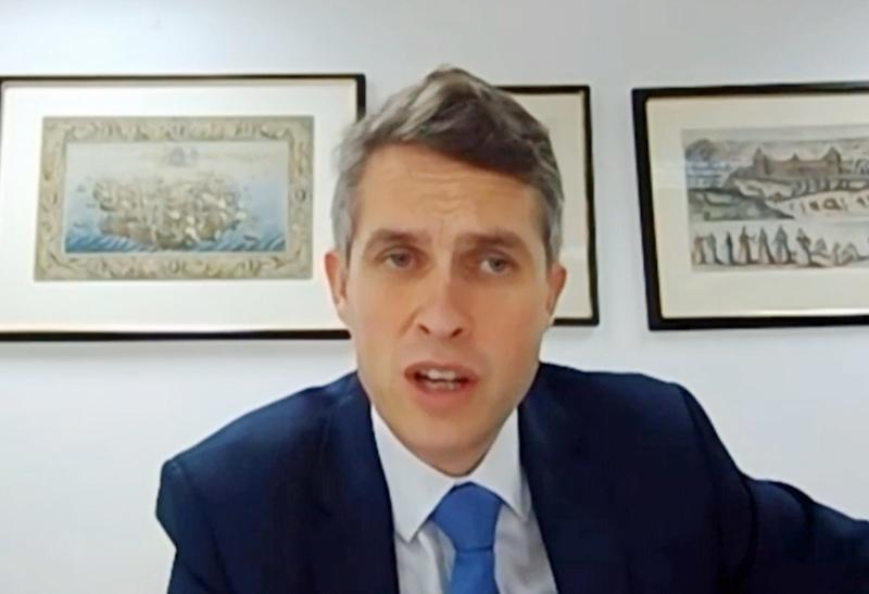 Gavin Williamson spoke out against 'no platforming' at conference in MansfieldPA