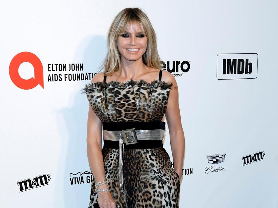 Heidi Klum, Elton John Aids Foundation 2019