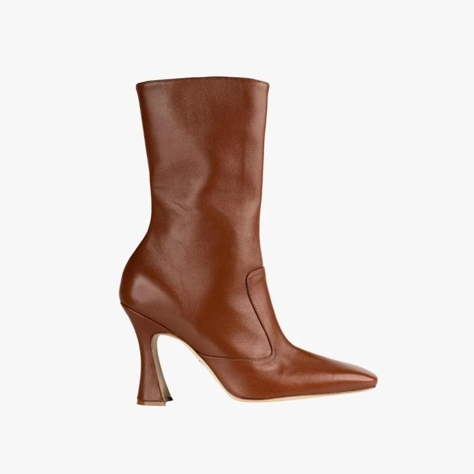 """$795, BROTHER VELLIES. <a href=""""https://brothervellies.com/collections/boots/products/brandy-boot-in-whiskey"""" rel=""""nofollow noopener"""" target=""""_blank"""" data-ylk=""""slk:Get it now!"""" class=""""link rapid-noclick-resp"""">Get it now!</a>"""
