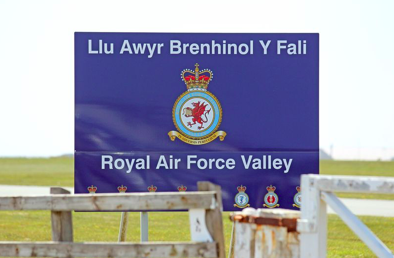 Richard Charles Priestley Wood landed at RAF Valley to visit the beach during the coronavirus lockdown in May last year. (Reach)