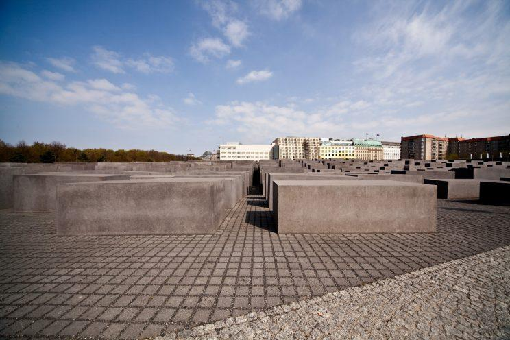 The memorial was opened in 2005. Supplied photo from the Foundation Memorial to the Murdered Jews of Europe