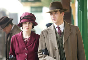 Michelle Dockery and Dan Stevens | Photo Credits: Giles Keyte/Carnival Film & Television Limited for Masterpiece