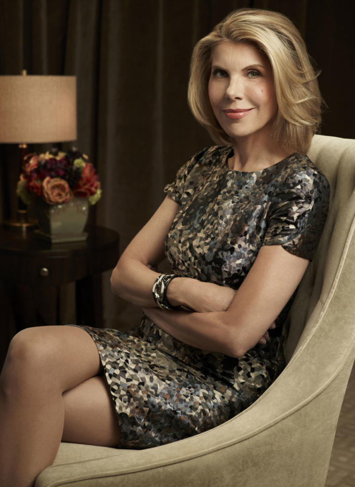 "Supporting Actress in a Drama Series: Christine Baranski, ""The Good Wife"""