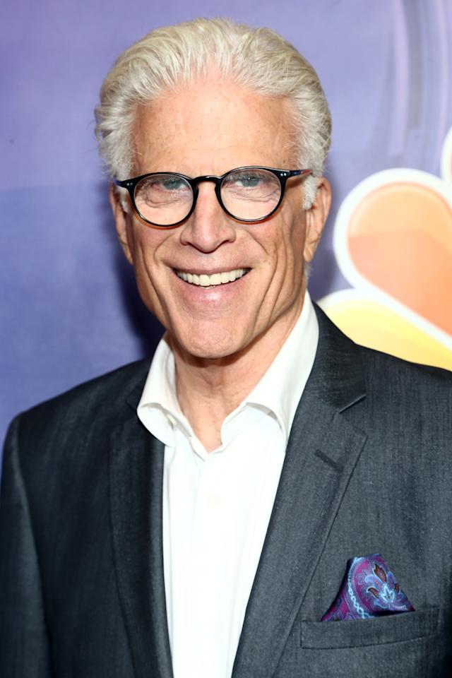 """<p>The legendary Ted Danson, who costars as failed afterlife architect Michael, is currently working on a <a href=""""http://variety.com/2019/tv/news/tina-fey-ted-danson-comedy-nbc-1203272415/"""" target=""""_blank"""" class=""""ga-track"""" data-ga-category=""""Related"""" data-ga-label=""""http://variety.com/2019/tv/news/tina-fey-ted-danson-comedy-nbc-1203272415/"""" data-ga-action=""""In-Line Links"""">yet-untitled NBC comedy series</a> with <a class=""""sugar-inline-link ga-track"""" title=""""Latest photos and news for Tina Fey"""" href=""""https://www.popsugar.com/Tina-Fey"""" target=""""_blank"""" data-ga-category=""""Related"""" data-ga-label=""""https://www.popsugar.com/Tina-Fey"""" data-ga-action=""""&lt;-related-&gt; Links"""">Tina Fey</a> and Robert Carlock, where he'll star as a wealthy businessman who becomes the mayor of LA. Little is known about the series at this point, but considering that Fey and Carlock are the brains behind <strong>30 Rock</strong>, we expect great things. </p>"""