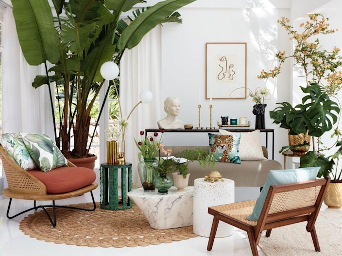 Update your homeware with large pieces or small accessories from one of these top sites (H&M Home)