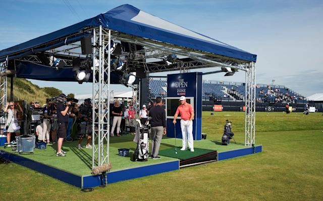 Sky Sports' Open Zone in all its glory - Mark Robinson