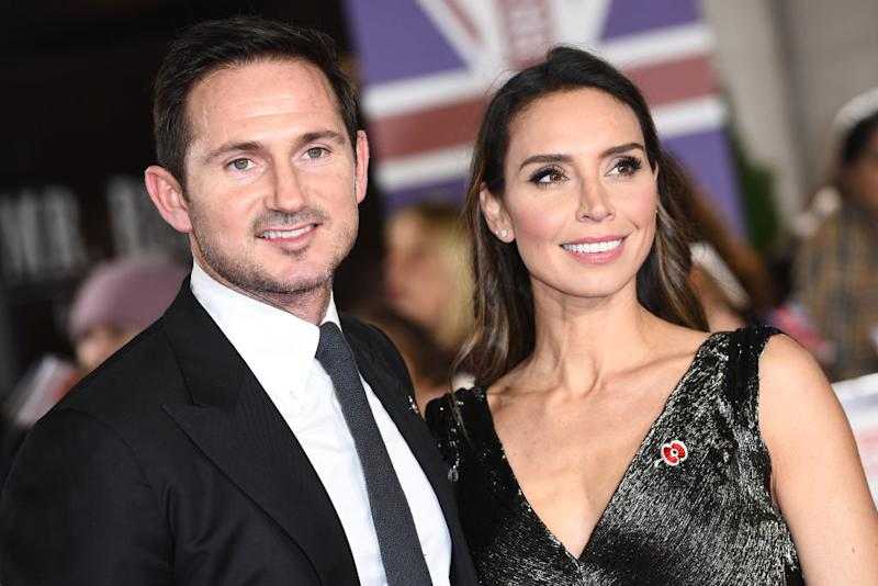 Frank and Christine Lampard pictured in November 2019. (Getty Images)