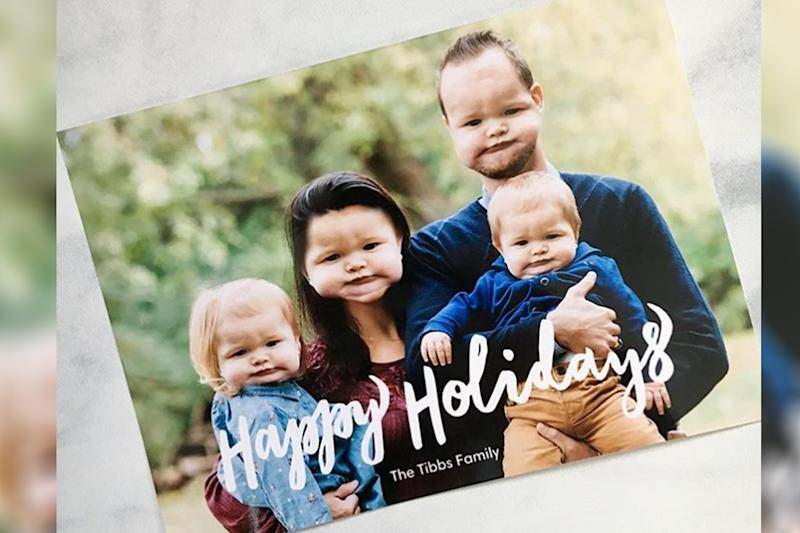 Bergeron Christmas Cards.Baby Face Swap Holiday Card Will Make You Lol