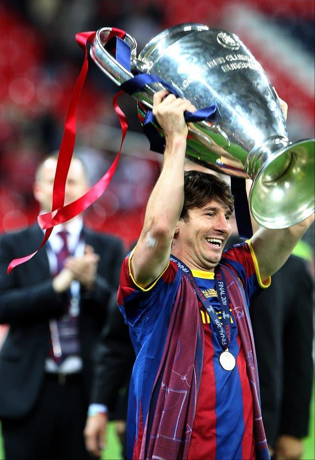 Messi enjoyed a glittering career at Barcelona