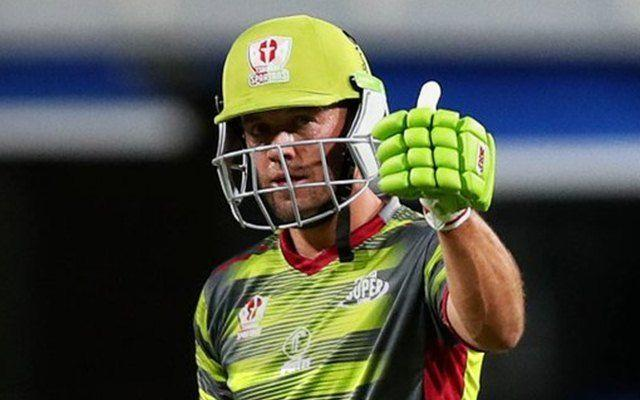 AB de Villiers was back in action in the recently concluded Mzansi Super League.