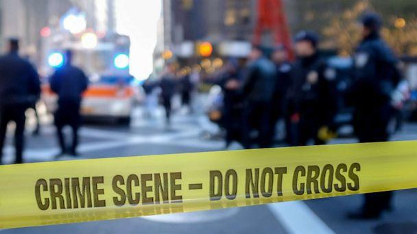 PHOTO: Police block off a crime scene in New York City. (STOCK/Getty Images)