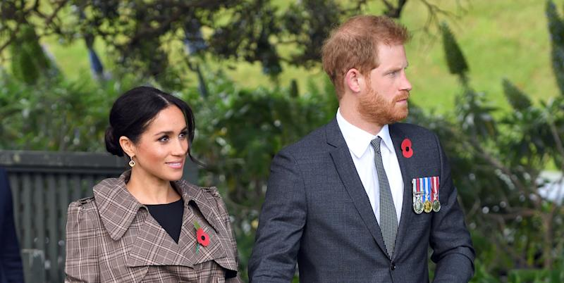 Prince Harry and wife Meghan name kiwi birds 'gift' and 'sneeze'