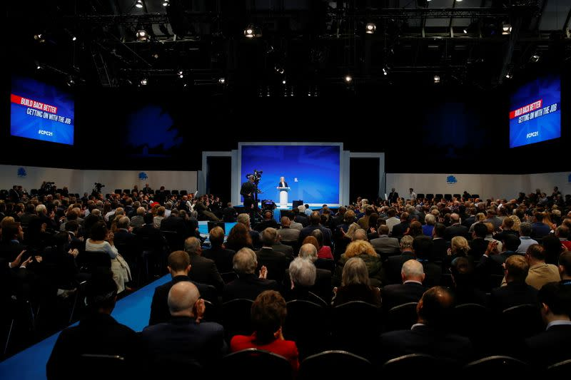 Conservative Party conference in Manchester