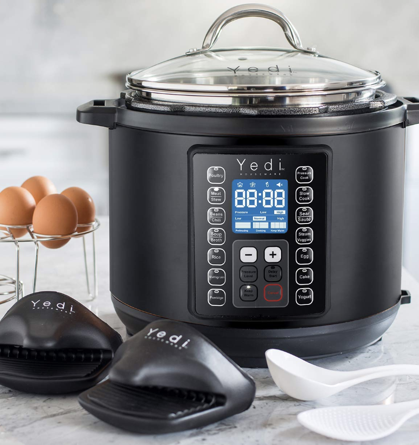 Yedi 9-in-1 Total Package Instant Programmable Pressure Cooker. (Photo: Amazon)