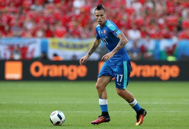 Slovakia skipper Marek Hamsik is back for the Republic of Ireland game