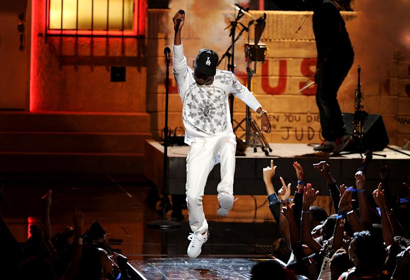 Minaj, Miguel, Kendrick Lamar win at BET