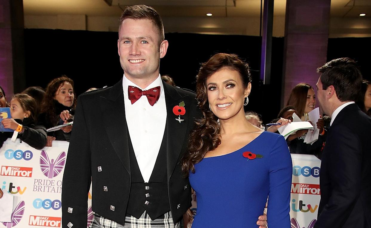 Kym Marsh is planning a military wedding to fiance Scott Ratcliff later this year. (Getty Images)
