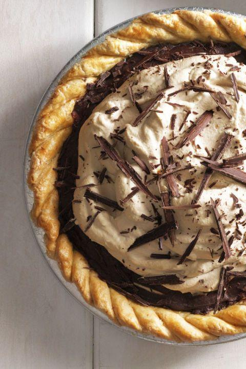 "<p>Chocolate and coffee and more chocolate, this pie is the ultimate dessert for your guests. <br></p><p><em><a href=""https://www.goodhousekeeping.com/food-recipes/a16153/decadent-chocolate-espresso-pie-recipe-clx0914/"" rel=""nofollow noopener"" target=""_blank"" data-ylk=""slk:Get the recipe for Decadent Chocolate Espresso Pie »"" class=""link rapid-noclick-resp"">Get the recipe for Decadent Chocolate Espresso Pie »</a></em></p>"