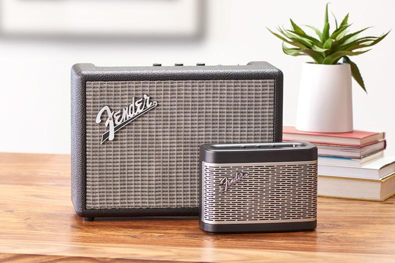 The Newport and Monterey speakers from Fender pack a decent punch: Fender/press image