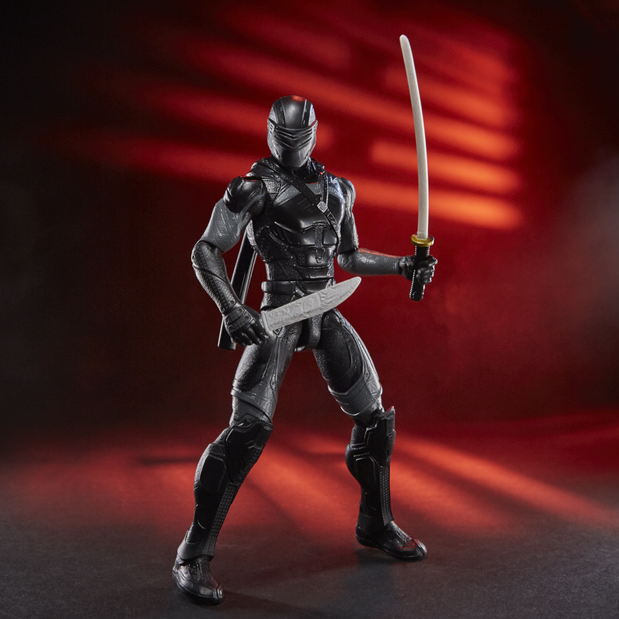 A Ninja Tech Snake Eyes action figure leads off Hasbro's collection of 'Snake Eyes: G.I. Joe Origins' toys (Photo: Hasbro)