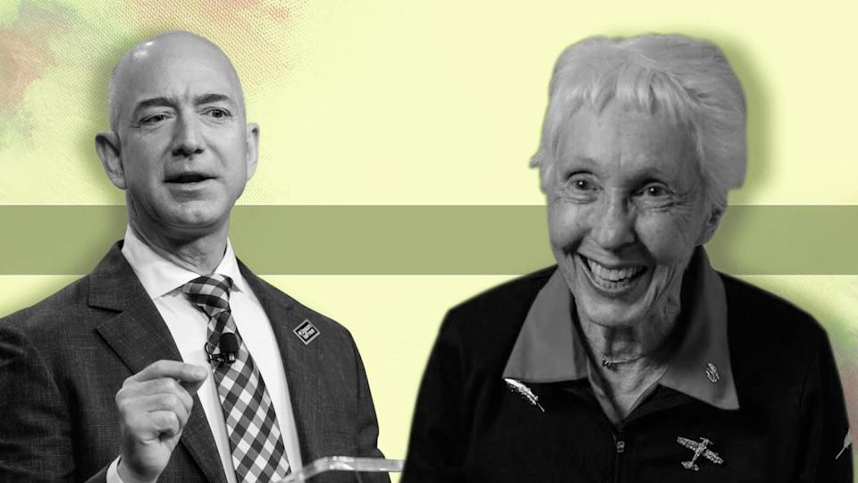 82-year-old Funk to join Bezos