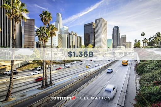 LA Businesses Lose $1.4B Annually to Traffic