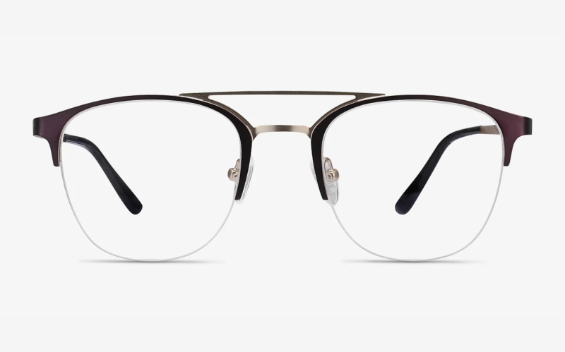 Society Aviator Eyeglasses. (Photo: EyeBuy Direct)