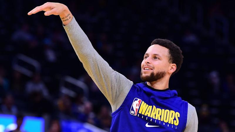 Stephen Curry set to rejoin Warriors lineup