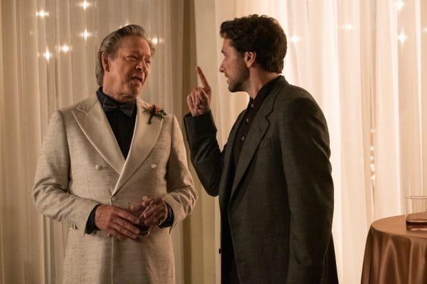 <em>Jerry (Chris Cooper) and Lloyd (Matthew Rhys). </em><em>Photo: Lacey Terrell/Courtesy of Sony Pictures Entertainment</em>