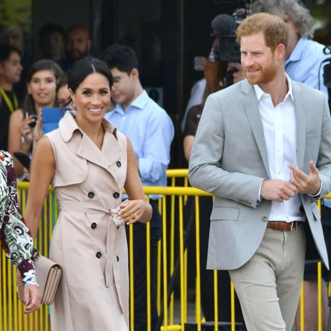 Prince Harry and Meghan, Duchess of Sussex credit:Bang Showbiz