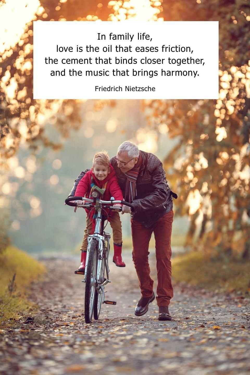 "<p>""In family life, love is the oil that eases friction, the cement that binds closer together, and the music that brings harmony.""</p>"