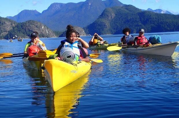 Take a Hike is a outdoor-based education program that started in Vancouver and has since expanded to Vancouver Island.  (Submitted by Nav Nagra - image credit)