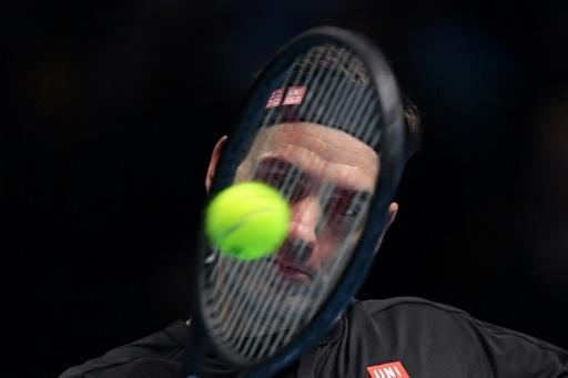 Switzerland's Roger Federer failed in his bid to win a seventh ATP Finals title