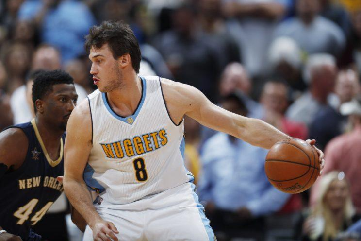 Danilo Gallinari averaged 18.2 points for Denver last season. (AP)