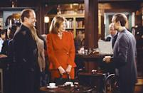 <p>Where else would Frasier and Niles Crane hang out on <em>Frasier</em>? The laidback cafe and library hybrid was perfect for the '90s sitcom. Honestly, we wouldn't mind grabbing a cup of coffee there ourselves. </p>
