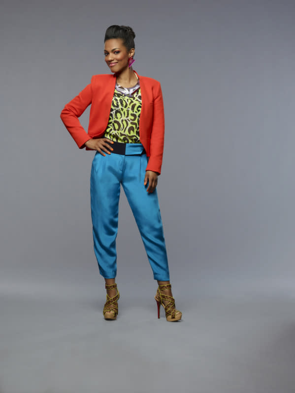 "Freema Agyeman as Larissa in ""The Carrie Diaries."""