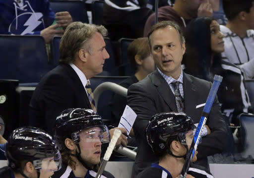 Lightning's Cooper vs. Stars' Bowness is NHL coaching first