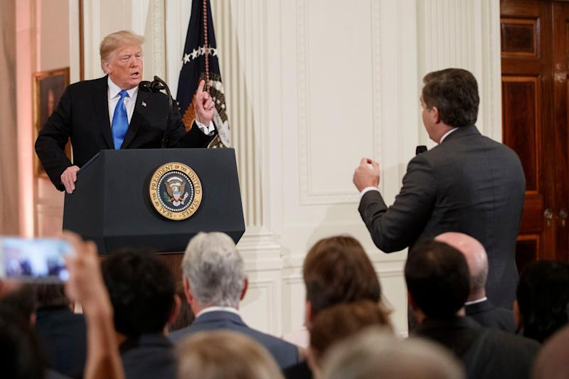 WOW! Trump BLOWS UP at Jim Acosta: 'You are a rude, terrible person'