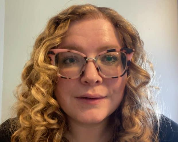 Kat McLaughlin, Newfoundland and Labrador chair of the Canadian Federation of Students, says students are 'enraged' over an announced tuition hike at Memorial University. (Terry Roberts/CBC - image credit)