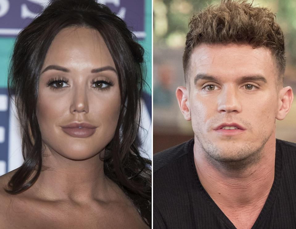 Charlotte congratulated Gaz on becoming a dad. Copyright: [Rex]