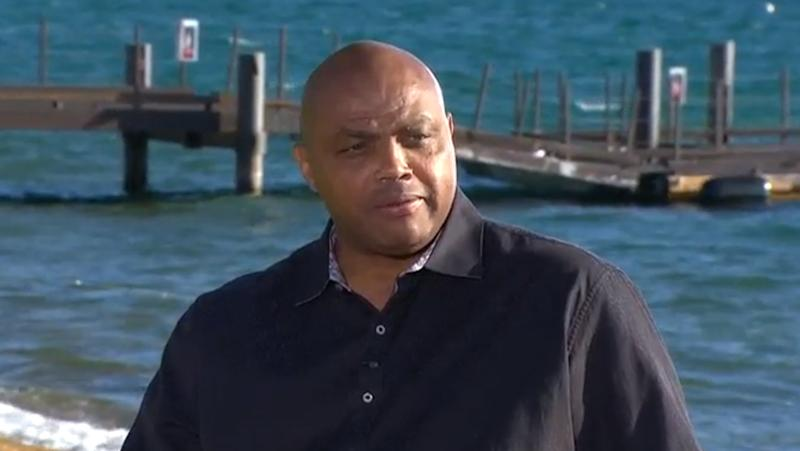 Charles Barkley takes part in 'Race and Sports in America: Conversations'
