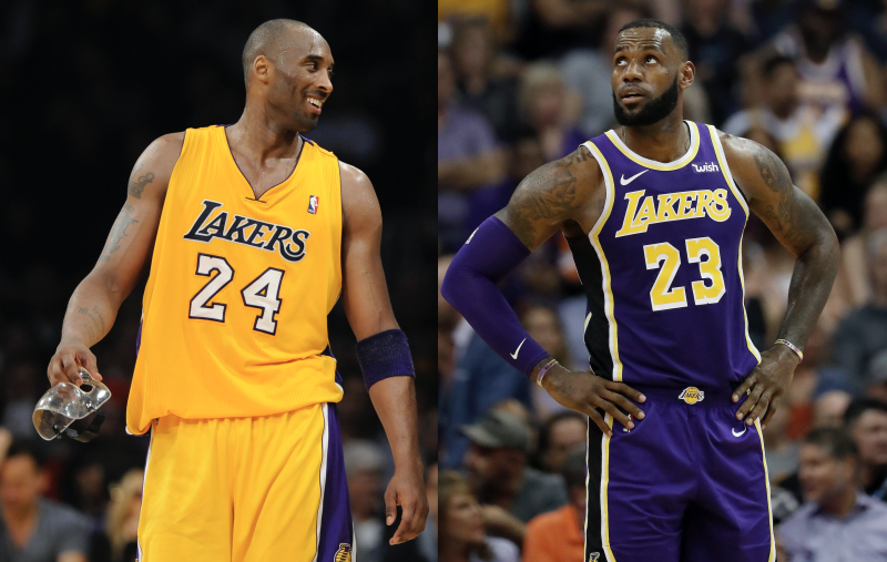 79fc65df3212 LeBron James teases Lakers fans over Kobe Bryant