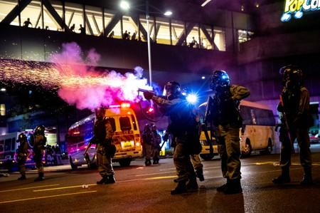 U.S. company supplying tear gas to Hong Kong police faces mounting criticism