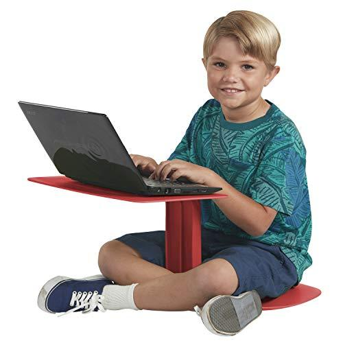ECR4Kids The Surf Portable Lap Desk, Flexible Seating for Homeschool and Classrooms, One-Piece Writing Table for Kids, Teens and Adults, GREENGUARD [Gold] Certified, Red (Amazon / Amazon)