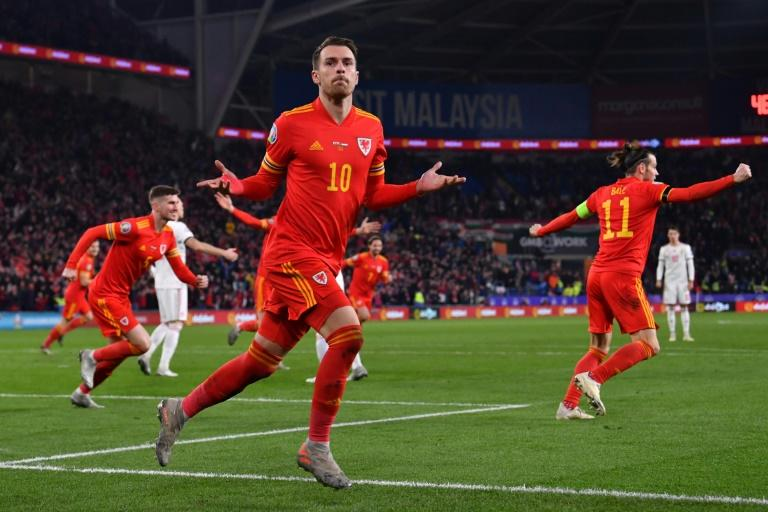 Aaron Ramsey scored twice as Wales beat Hungary to qualify for Euro 2020
