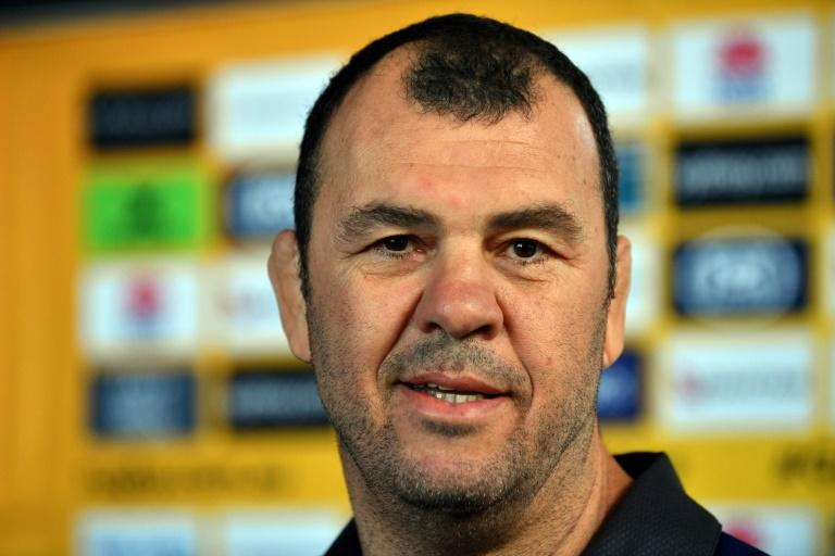 Australia's rugby coach Michael Cheika guided the Wallabies to the 2015 World Cup final