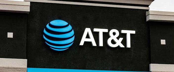 Indianapolis - Circa: March 2019: AT&T Retail cell phone and mobility store. AT&T wrapped up its merger with WarnerMedia and now controls HBO and CNN V
