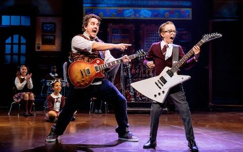 School of Rock at the New London Theatre - Credit: Manuel Harlan