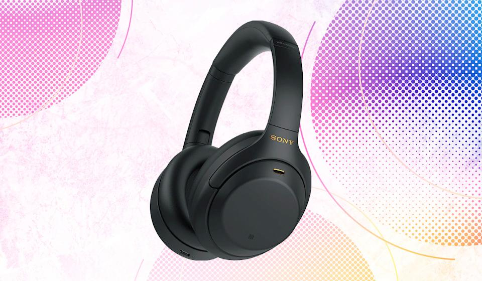 If you have ears, you're likely to love Sony's WH-1000XM4 noise-canceling cans. The sanity you save may be your own. (Photo: Sony)